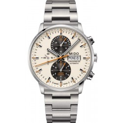 Buy Mido Men's Watch Commander II COSC Automatic Chronograph M0164151126100