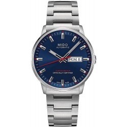 Buy Mido Men's Watch Commander II COSC Chronometer Automatic M0214311104100