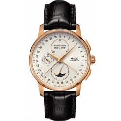 Buy Mido Men's Watch Baroncelli II Chronograph Moonphase Automatic M86073M142