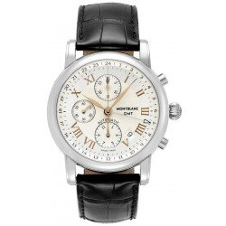 Buy Montblanc Star Chronograph GMT Automatic Men's Watch 36967