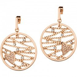 Buy Morellato Ladies Earrings Cuoremio SADA02