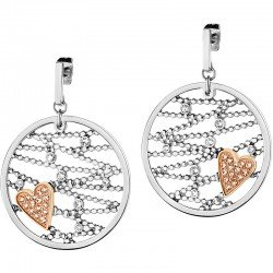 Buy Morellato Ladies Earrings Cuoremio SADA06