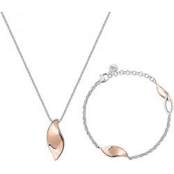 Morellato Ladies Necklace + Bracelet Foglia SAKH47
