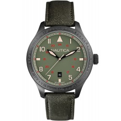 Buy Nautica Men's Watch BFD 105 Date A11108G
