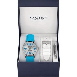 Nautica Unisex Watch BFD 102 MID Box Set A11628M