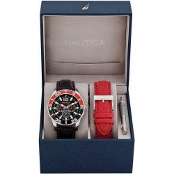 Nautica Men's Watch NST 07 Box Set Multifunction A14670G