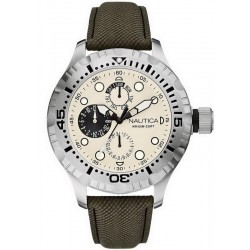 Buy Nautica Men's Watch BFD 100 Multifunction A15108G