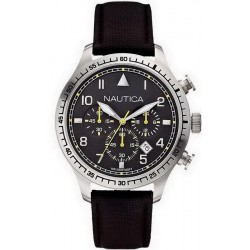 Buy Nautica Men's Watch BFD 105 Chronograph A16577G