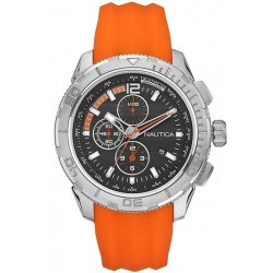 Nautica Men's Watch NST 101 Chronograph A18723G