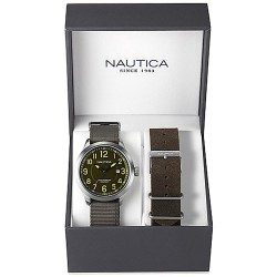 Nautica Men's Watch NCC 01 Date Box Set NAI12525G