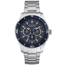 Nautica Men's Watch NST 10 Multifunction NAI16528G