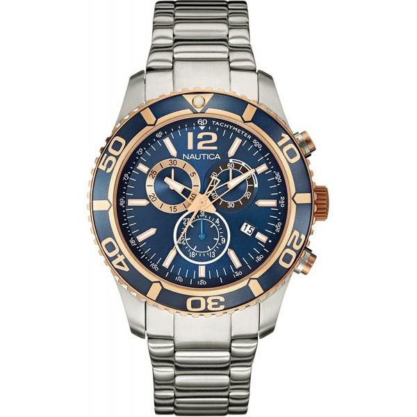 Buy Nautica Men's Watch NST 09 Chronograph NAI18500G