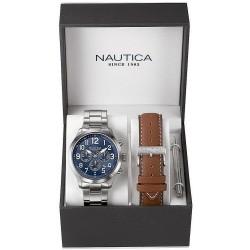 Buy Nautica Men's Watch NCC 01 Box Set NAI18509G Chronograph