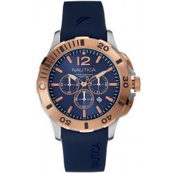 Buy Nautica Men's Watch BFD 101 Dive Style Chronograph NAI19506G