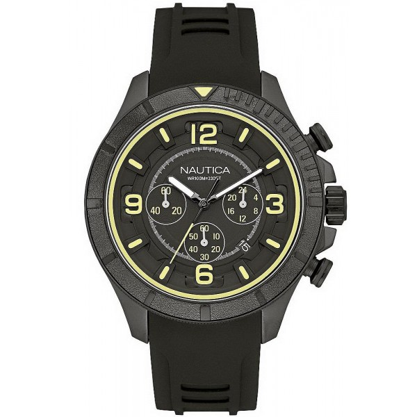 Buy Nautica Men's Watch NST 450 Abyssum NAI19526G Chronograph