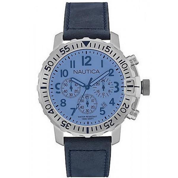 Buy Nautica Men's Watch NMS 01 USS NAI19534G Chronograph