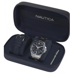 Buy Nautica Men's Watch Freeboard Box Set NAPFRB013