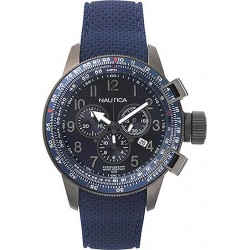 Buy Nautica Men's Watch Galley Box Set Chronograph NAPGLY001