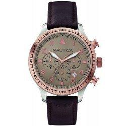 Buy Nautica Men's Watch BFD 105 A17656G Chronograph