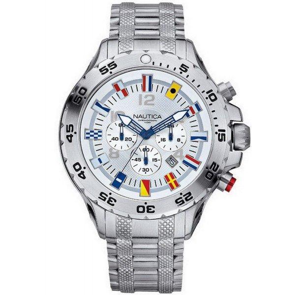 Buy Nautica Men's Watch NST Flag A29513G Chronograph