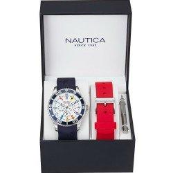Nautica Men's Watch NST 07 Flag NAI13502G Multifunction