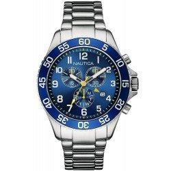 Nautica Men's Watch NST 19 NAI17508G Chronograph