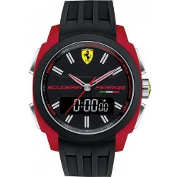 Buy Scuderia Ferrari Men's Watch Aerodinamico Chrono 0830121