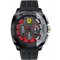Buy Scuderia Ferrari Men's Watch Aerodinamico Chrono 0830205