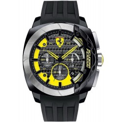 Buy Scuderia Ferrari Men's Watch Aerodinamico Chrono 0830206