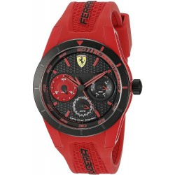 Buy Scuderia Ferrari Men's Watch RedRev 0830258