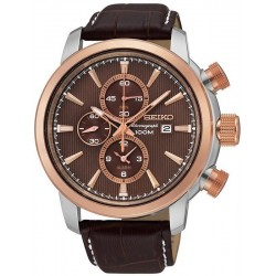 Buy Seiko Men's Watch Neo Sport Alarm Chronograph Quartz SNAF52P1