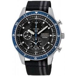 Seiko Men's Watch SNDF47P1 Chronograph Quartz