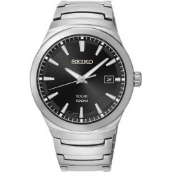 Seiko Men's Watch SNE291P1 Date Solar