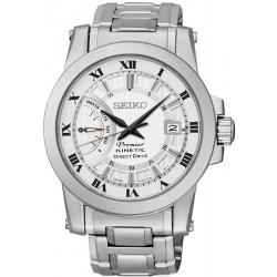 Buy Seiko Men's Watch Premier Kinetic Direct Drive SRG007P1 Chronograph