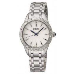 Buy Seiko Ladies Watch Swarovski Crystals SRZ385P1 Quartz