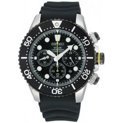 Buy Seiko Men's Watch Prospex Chronograph Diver's 200M Solar SSC021P1