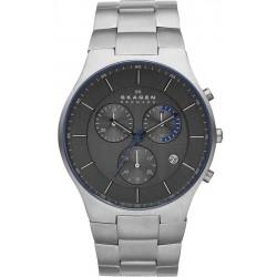 Buy Skagen Men's Watch Balder Titanium Chronograph SKW6077