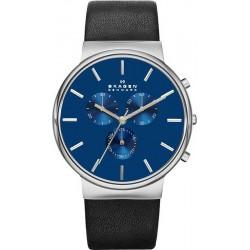 Buy Skagen Men's Watch Ancher Chronograph SKW6105
