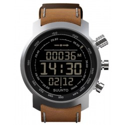 Buy Suunto Elementum Terra Brown Leather Men's Watch SS018733000