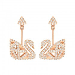 Buy Swarovski Ladies Earrings Facet Swan 5358058