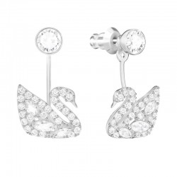 Buy Swarovski Ladies Earrings Jackets Swan Lake 5379944