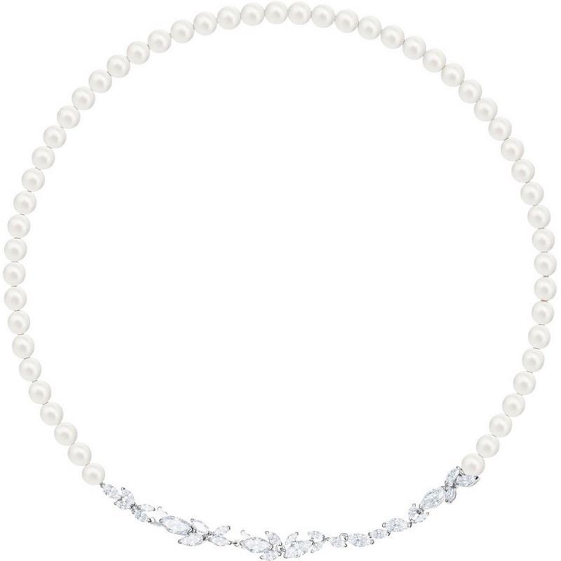 Collier Swarovski Femme Louison Pearl 5414693 - Bijoux de Mode