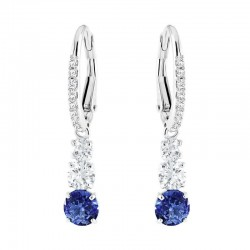 Buy Swarovski Ladies Earrings Attract Trilogy Round 5416154
