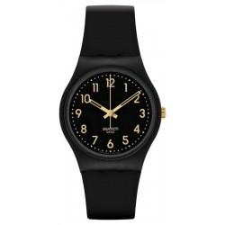 Swatch Unisex Watch Gent Golden Tac GB274