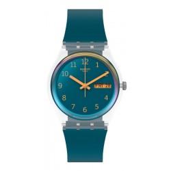 Swatch Unisex Watch Gent Blue Away GE721