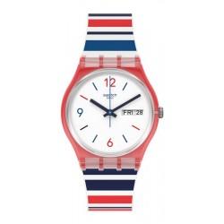 Swatch Unisex Watch Gent Sea Barcode GR712