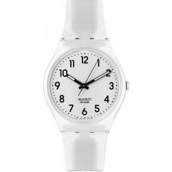 Swatch Unisex Watch Gent Just White GW151