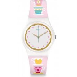 Buy Swatch Ladies Watch Gent High Tea GW191