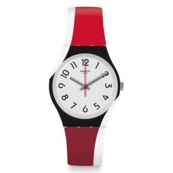 Swatch Unisex Watch Gent Redtwist GW208