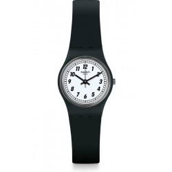 Swatch Ladies Watch Lady Something Black LB184